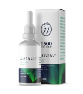 Natuur Natural Isolate Aceite De Cbd 1500 Mg 30ml Menta